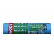 Szemeteszsák 50x50 20 literes kék, 10 mikron